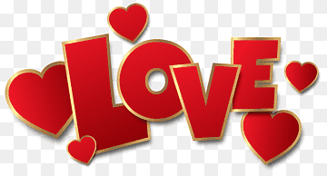 Download Love Text PNG