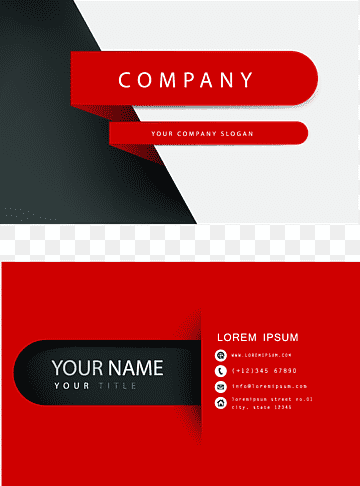 Download Business Card PNG