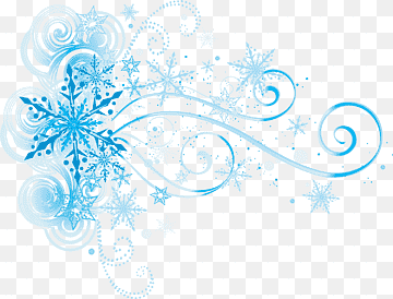 Download Blue Snowflake PNG