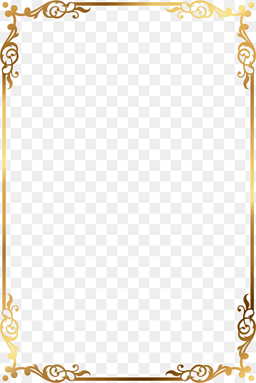 Download Frame Gold PNG