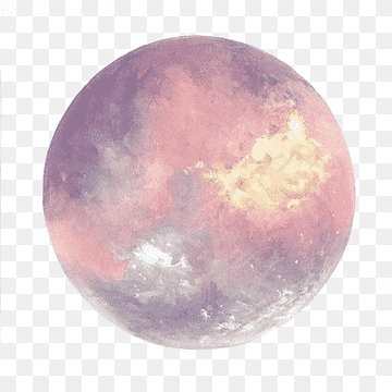 Download Watercolor Planet PNG