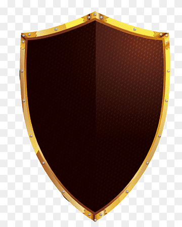 Download Shield Golden PNG