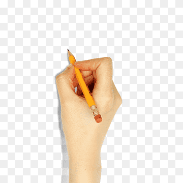 Download Pencil Hand PNG