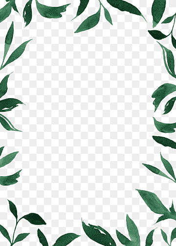 Download Border Leaves PNG