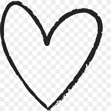 Download Heart Black PNG