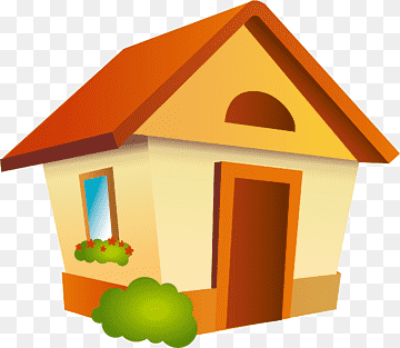 Download House Orange PNG