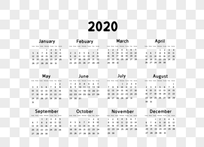 Download 2020 Calendar