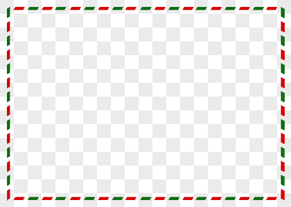 Download Christmas Red-green Stitching Frame