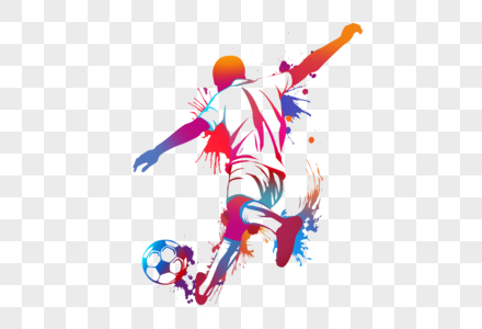 Download Colorful Football
