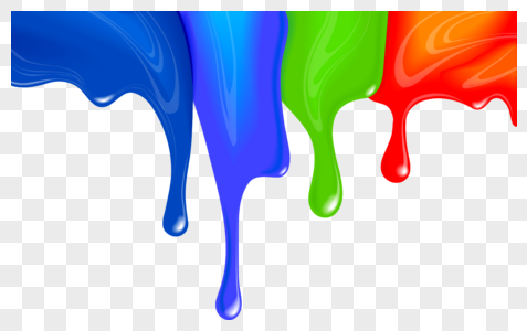 Download Colorful Paint Drops