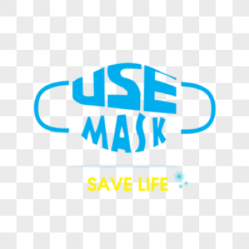Download Use Mask Save Life Typography