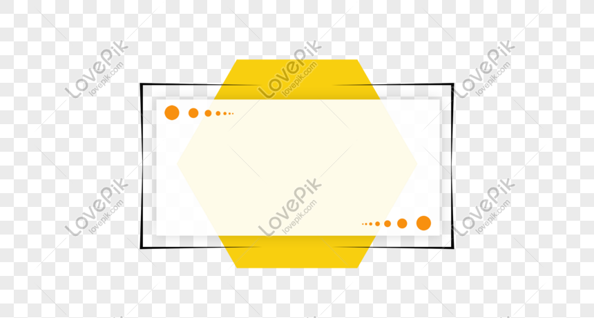 Download free Creative Yellow Text Box Design