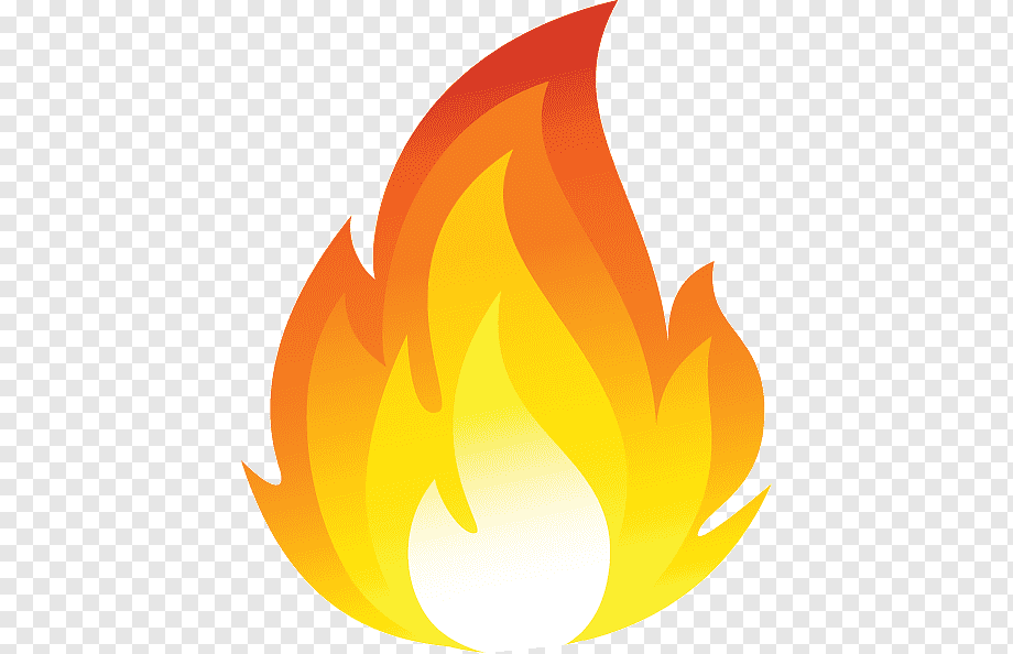 Download free Fire Orange PNG